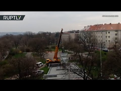 В Праге демонтировали