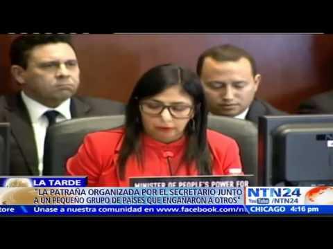 Semana crucial para Venezuela en el Consejo Permanente de la OEA