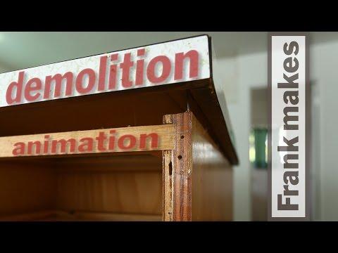 Kitchen Remodel: Part 2 - Animated Demolition