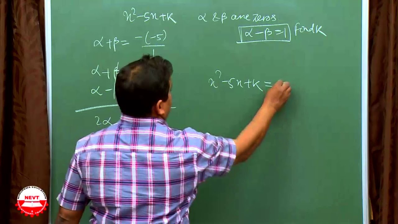 Class 10 Math Polynomials E Previous Year and Important Questions with  Answer