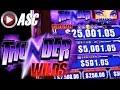 *NEW SLOT* THUNDER WILDS | DEMO PLAY @AINSWORTH GAME TECHNOLOGY (Vegas) Slot Machine