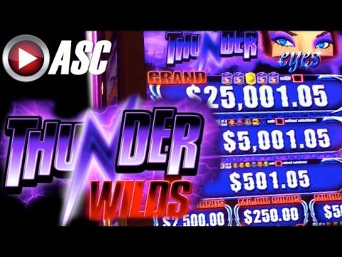 *NEW SLOT* THUNDER WILDS - DEMO PLAY @AINSWORTH GAME TECHNOLOGY (Vegas) Slot Machine - 동영상