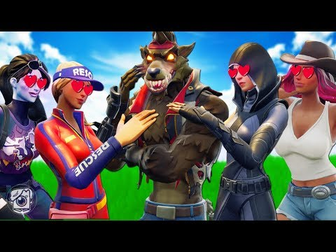 DIRE GETS A FAN CLUB OF GIRLS?! *NEW SEASON 6* - A Fortnite Short Film thumbnail