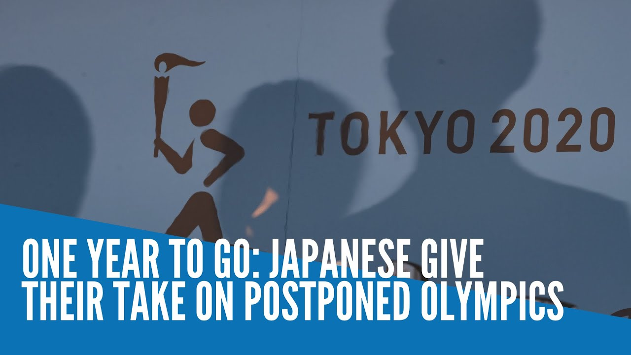 One year to go: Japanese give their take on postponed Olympics - INQUIRER.net