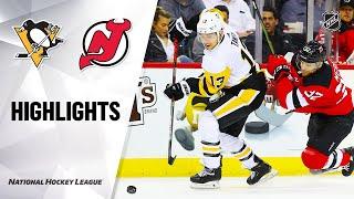 Nhl Highlights | Penguins @ Devils 3/10/20