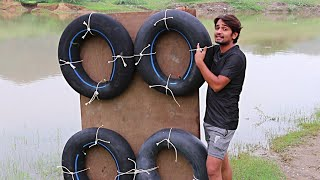 Simple Tube Boat - Will It Work ? | Jugad Technology