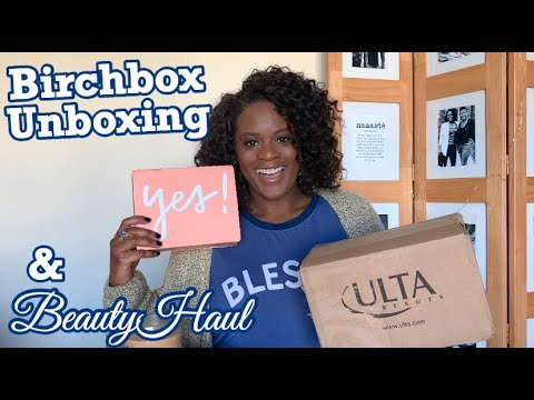 fall-skincare-favorites-|-birchbox-beauty-box-unboxing-2019-|-ulta-haul-sale