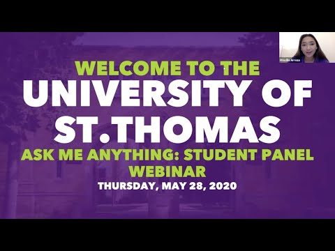 Ask Me Anything: Student Panel - May 28, 2020