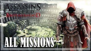 Assassin's creed brotherhood - all missions | full game 100% sync