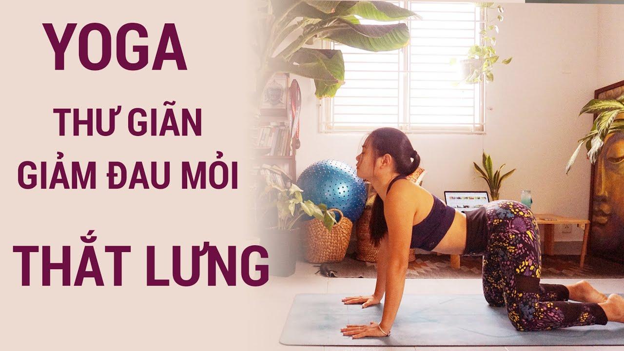 Yoga thư giãn, giảm đau mỏi phần THẮT LƯNG | Yogi Travel