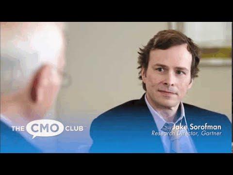 Jake Sorofman, Research Executive at Gartner - CMO Club TV