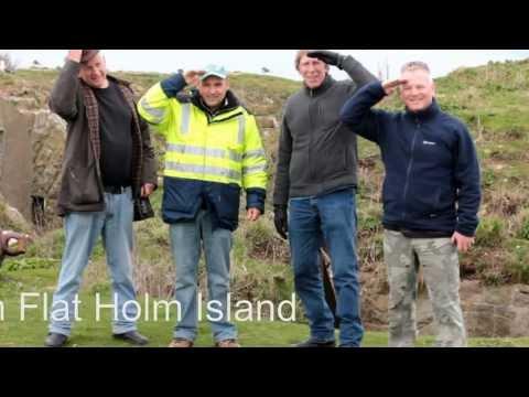 Amateur Radio.  Marconi Day Flat Holm Island