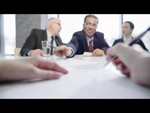 Filling Out Application Form for New Job | Stock Footage