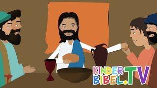 Ein besonderes Abendessen   KinderBibel.TV