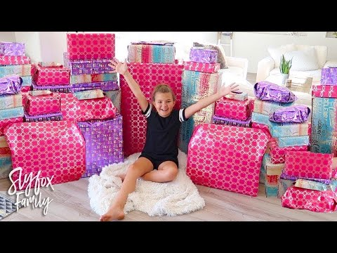 🎂 JAEDYN'S 10th BIRTHDAY SPECIAL MORNING PRESENT OPENING!! 🎁 | Slyfox Family