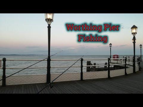 Fishing Worthing Pier 17/03/2019