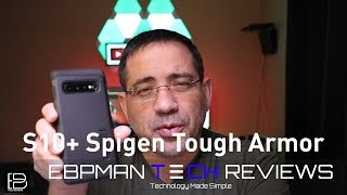 Spigen Tough Armor Case for the Samsung Galaxy S10 Plus
