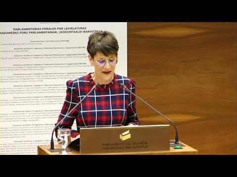 """María Chivite """"La educación es clave en el camino hacia la igualdad real entre hombres y mujeres"""""""