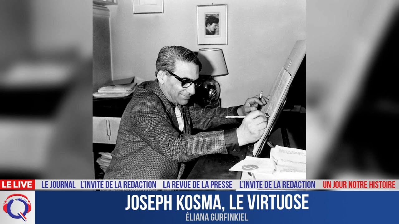 Joseph Kosma, le virtuose  - Un jour notre Histoire du 21 juillet 2021