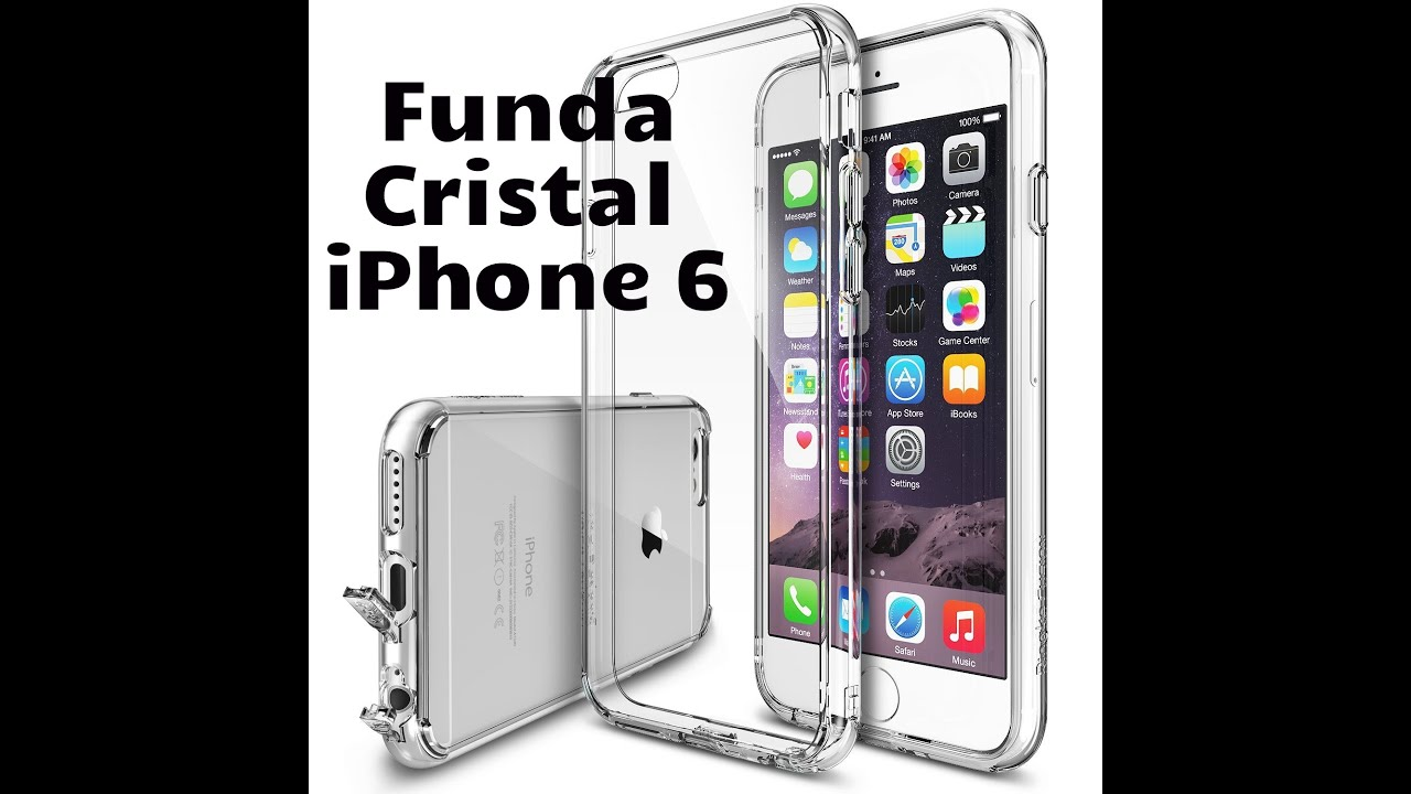 carcasa iphone 6s cristal