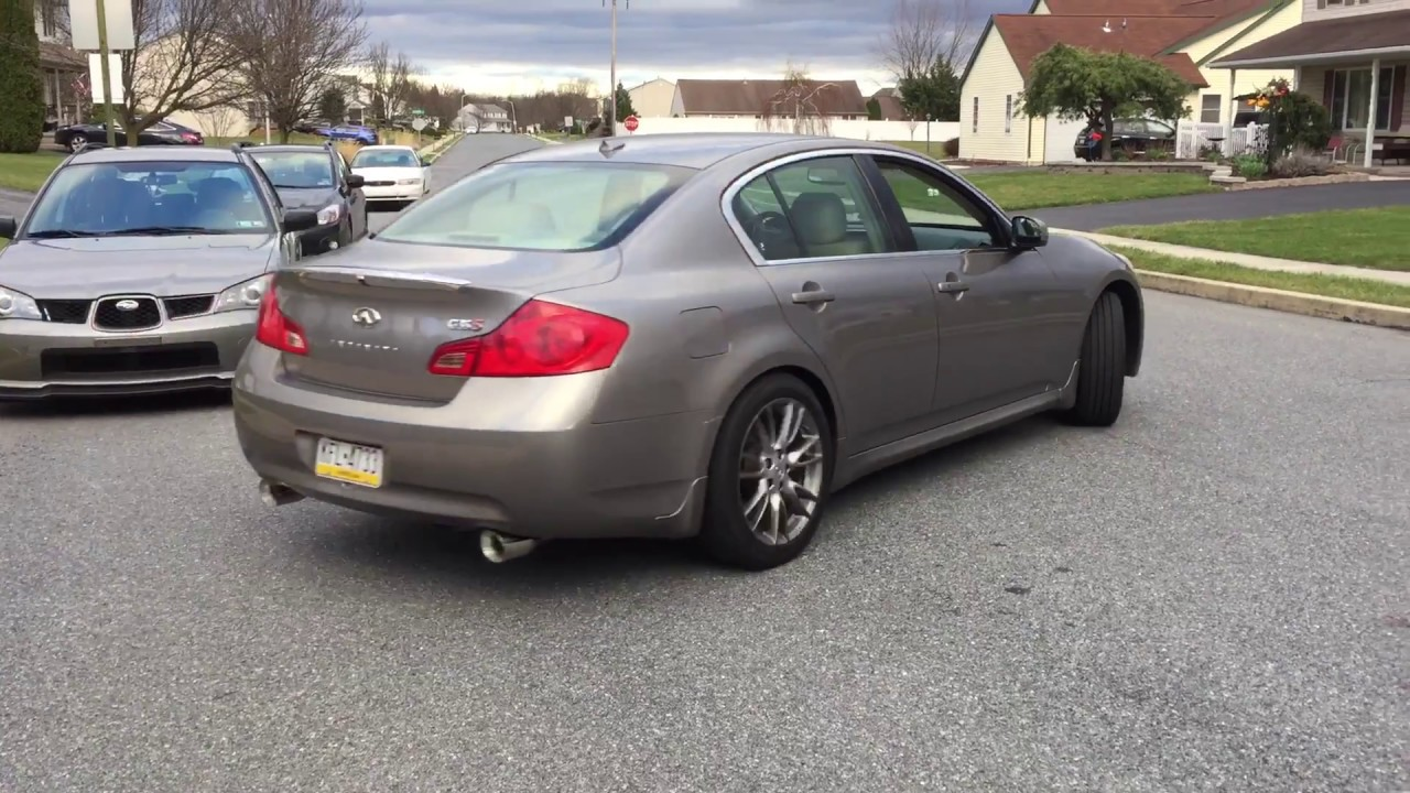 2007 Infiniti G35 Sedan >> Top Speed Muffler Delete On 2007 Infiniti G35 Sedan