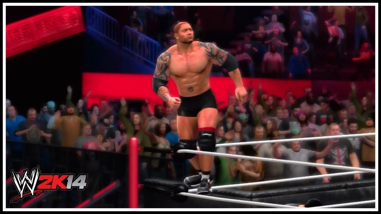 WWE 2K14 - New Batista...
