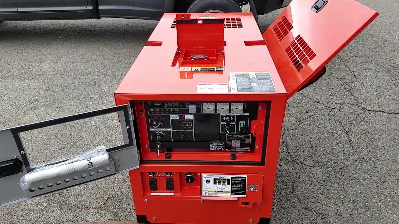Kubota generator GL 14000 red diesel fuel no good part 2  Problem corrected!