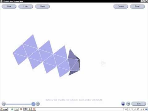 Origami Tetraedro Sonobe