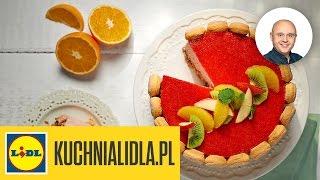 Tort jogurtowo-owocowy - Paweł Małecki - Przepisy Kuchni Lidla