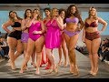 Fashion week Plus Size 2017   Miss Plus Size  Hot And Body Confidence   Best Moment In Slow Motion