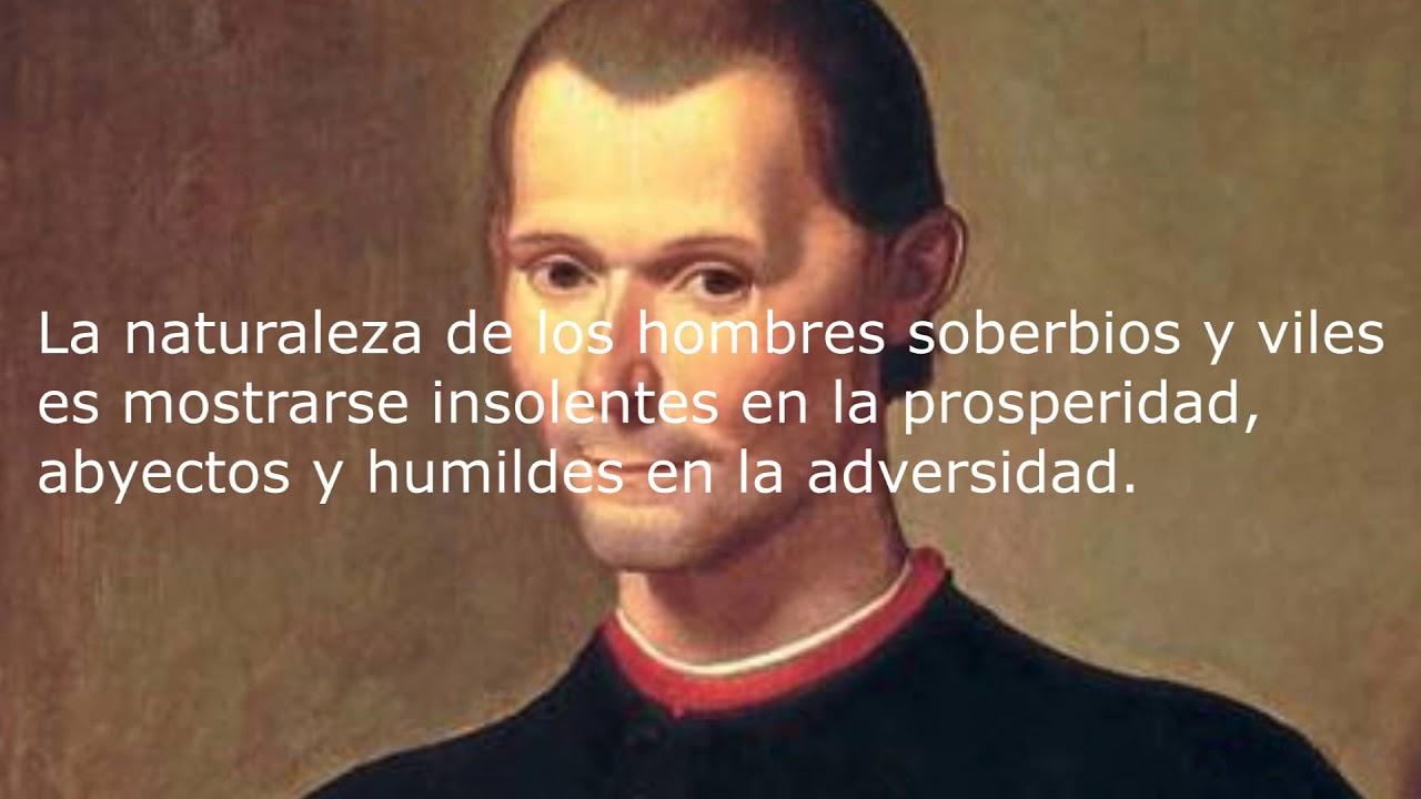Nicolas Maquiavelo 10 Frases Youtube