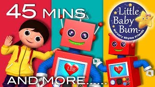 Robot Song | Learn with Little Baby Bum | Nursery Rhymes for Babies | Songs for Kids