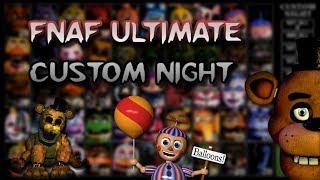 FNAF Ultimate Custom Night #3 | **SCARY WARNING**