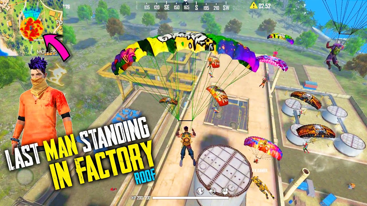 24 Kills Total In Free Fire | Factory Fist Fight Insane Gameplay | Garena Free Fire – P.K. GAMERS