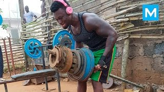 REAL GYM - African Bodybuilders | Muscle Madness