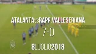 Amichevole Atalanta vs Rappresentativa Val Seriana 7-0