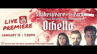 Hilo Community Players Presents Othello