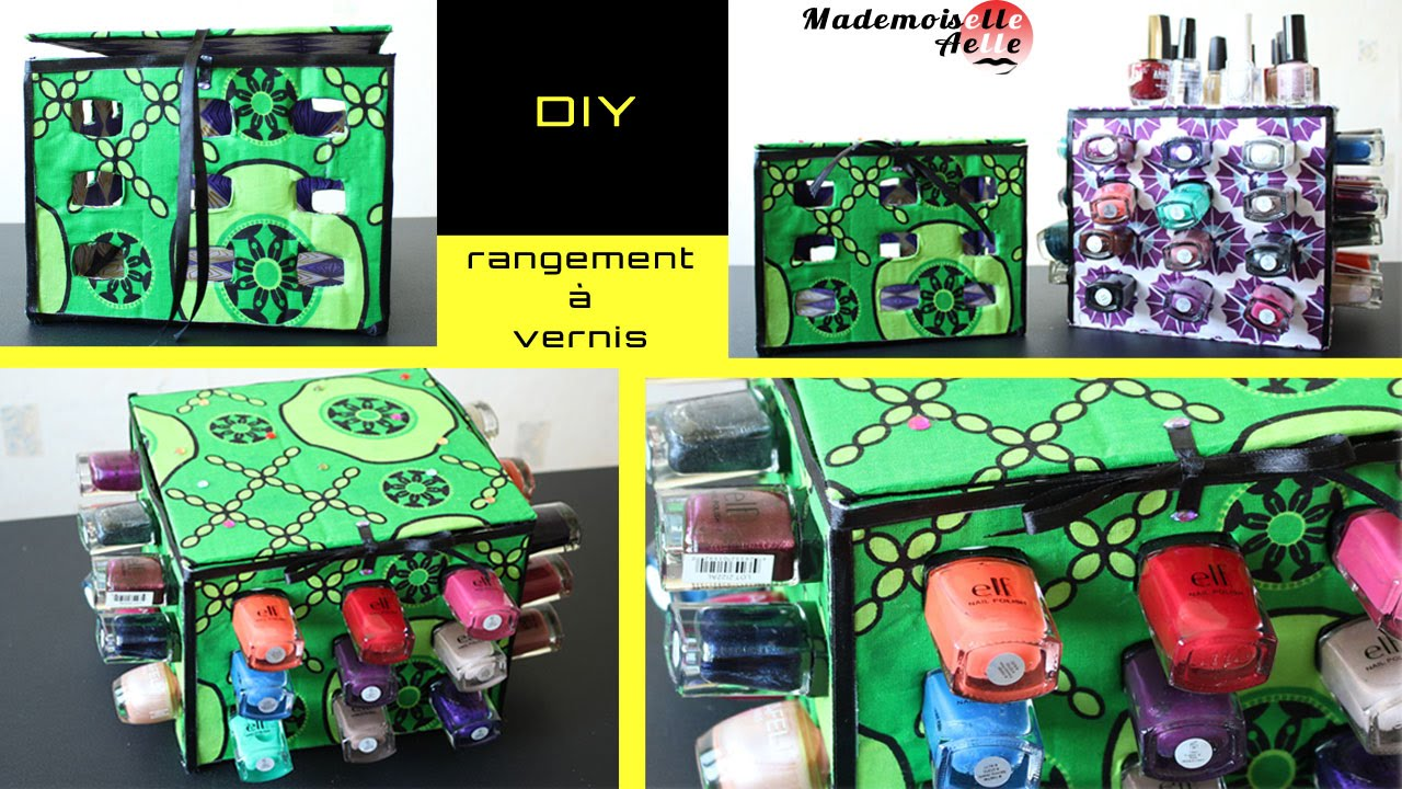 diy rangement vernis fabriquer soi m me cube vernis version 2 youtube. Black Bedroom Furniture Sets. Home Design Ideas