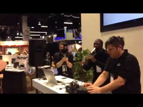 Akai EWI5000 NAMM 2014 demo by Michael Phillips