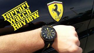 Scuderia Ferrari Watch - Quick Review (4K)