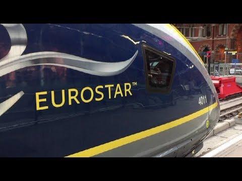 London To Amsterdam By Train: Eurostar; Europe By Train; Great Railway Journeys; Standard Premier