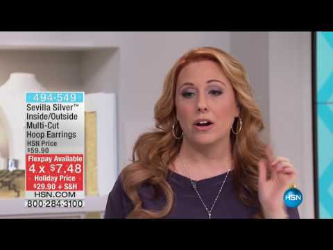 HSN | Sevilla Silver with Technibond Jewelry 11.04.2016 - 02 AM
