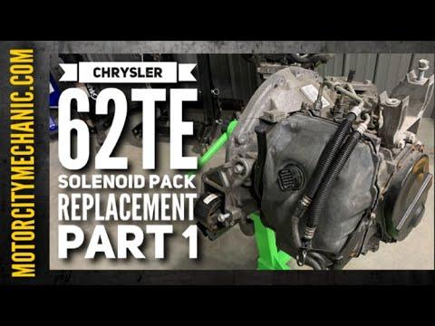 Chrysler 62TE Solenoid Pack Replacement PART 1