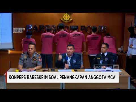 Konpres Bareskrim Soal Penangkapan 'The Family MCA'
