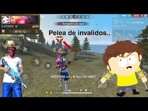 Pelea De Invalidos..... Free Fire Random   Mr Alexander YT