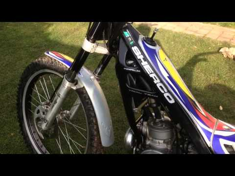 trials bike for sale sherco 125 youtube. Black Bedroom Furniture Sets. Home Design Ideas