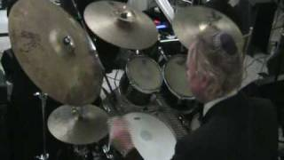 George Hooks (Sick Drummer) Playing At A Chasuna At Addison Park.mp4