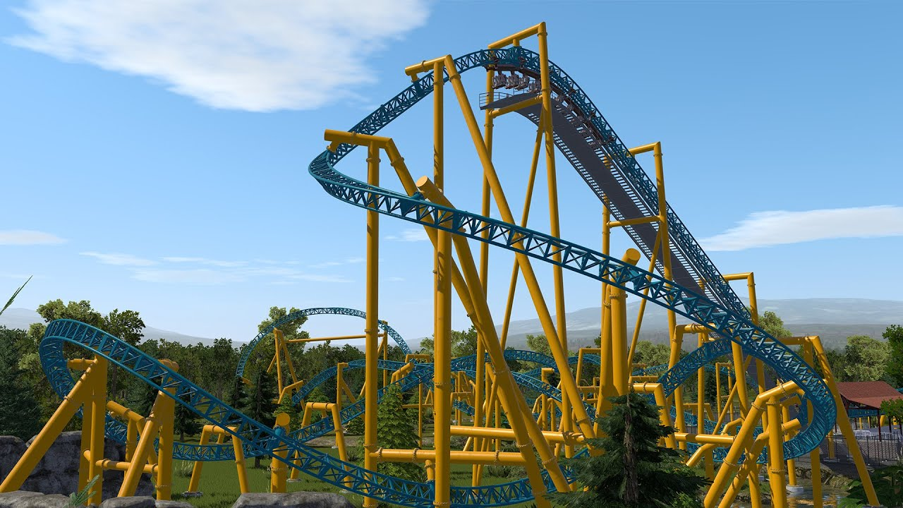 Vortex - NoLimits 2 (Intamin Inverted Coaster)
