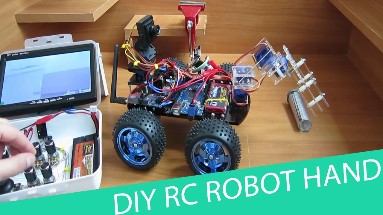 How to Build a Remote Controlled Robot foto