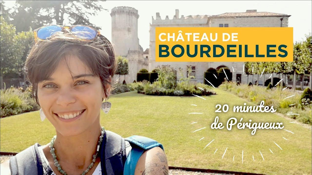 Le Château de Bourdeilles en Périgord Vert